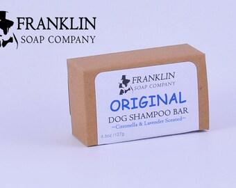 Scented Dog Shampoo Bar (All Natural)