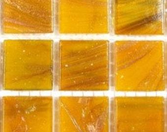 GB92080 Yellow Gold VeinedMosaic Tiles-25 pc//Mosaic//Discount Mosaic Supplies