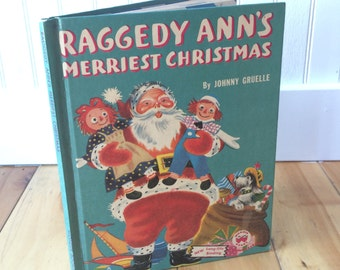 Raggedy Ann's Merriest Christmas - Wonder Book