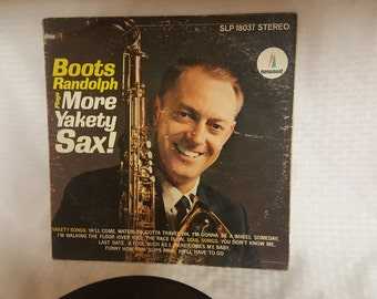 Boots Randolph plays More Yakety Sax! Vintage Record