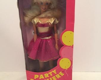 SALE - 1992 Party Premiere Barbie Doll #2001