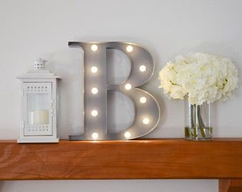"""Greek Letter Lights """"Beta"""" / Letter Marquee Light """"B"""" / Sorority Marquee Letters / Light up Letters / Sorority Lights / Marquee Signs"""
