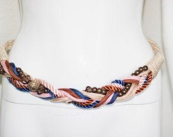 Vintage 70's Rope Belt