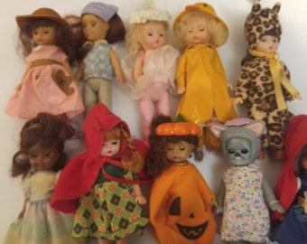 Lot Of 10 Madame Alexander McDonalds Dolls