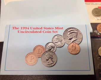 1994 United States mint  P.D