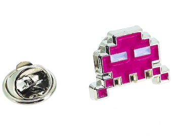 Space Invaders Lapel Pin