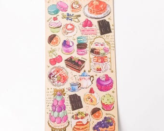 Sticker - High Tea Stickers | Stationery Planner Stickers | Diary Stickers
