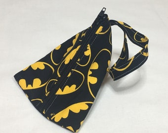 Batman Small Zippered Bag