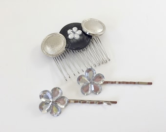 Hair accessories, Gifts for women, Hair comb, Girlfriend gift, Bobby pins, Gift for mom, Hair pins