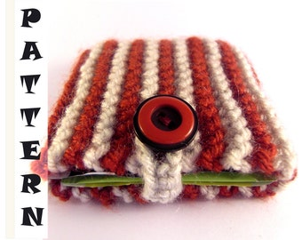 CUP O T Tea Bag Cozy PDF PATTERN, Easy Knitting Pattern, Knitted Christmas Gift, Christmas Gift Pattern, Beginners knitting, Knitting