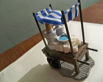 exclusively for lemax coffee cart miniature display piece