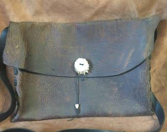 Leather Attache/ Messenger / Laptop Bag
