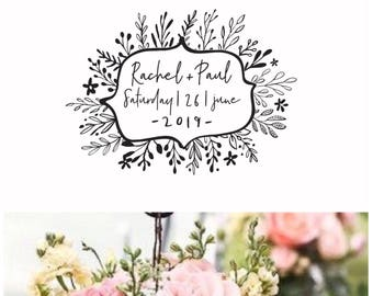 Save the Date Celebration Series  Stamps with Additional text