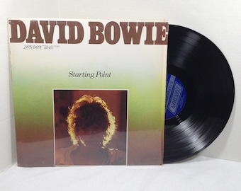 David Bowie Starting Point vinyl record 1977 London Collector Series EX