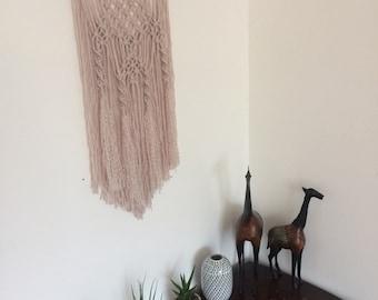 Homemade Macrame wall hanging - original design