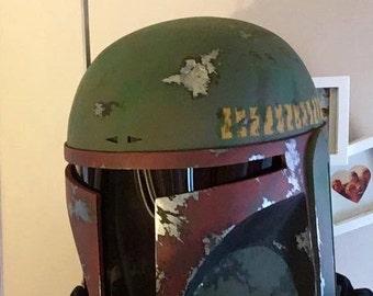 Boba Fett resin cast Helmet made to order.