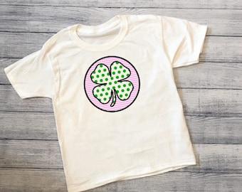 Kids St. Patricks Day Shamrock Shirt
