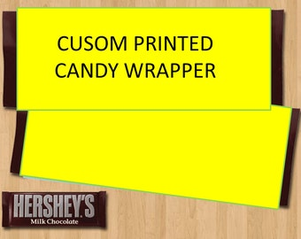 Printed Candy Wrapper -  Custom Printed Candy Wrapper