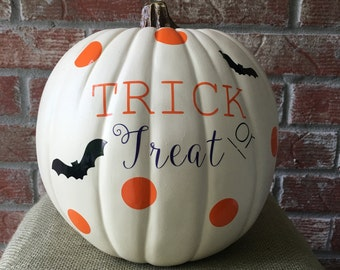 Pumpkin decal kit