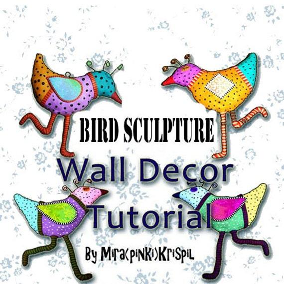 tutorials diy tutorial polymer clay pdf tutorial bird sculpture