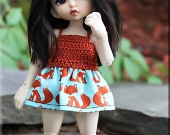 Realfee Fox Dress & Panties