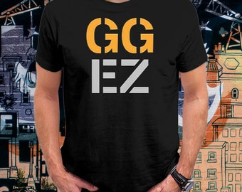 Overwatch Shirt, Video game Shirt, Gamer Shirt | GG EZ Shirt