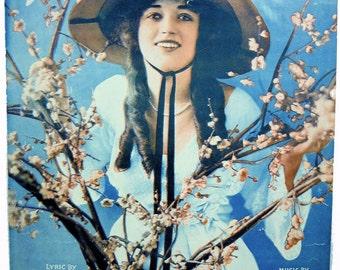 Broken Blossoms Ballard Macdonald Scarce Vintage Sheet Music 1919