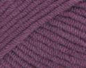 Rowan All Seasons Cotton Color 241 Damson (Violet), Special Savings!!  Regular price is 9.00