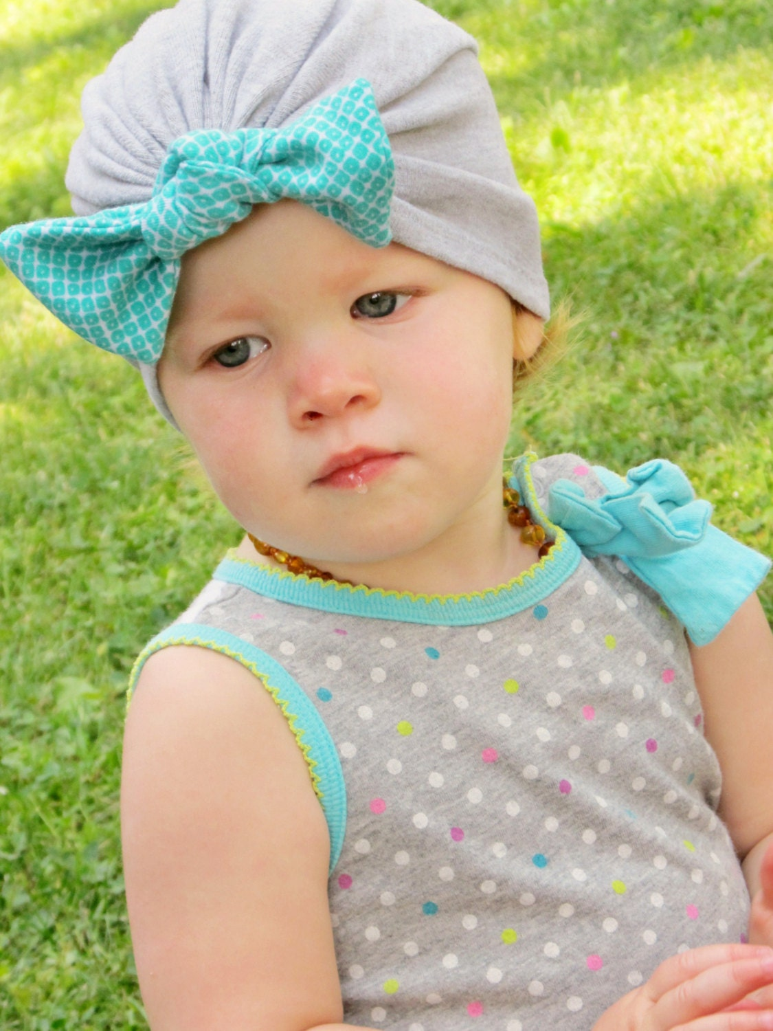 Beanie pattern pattern tutorial knit bow turban hat 3 months zoom baditri Images