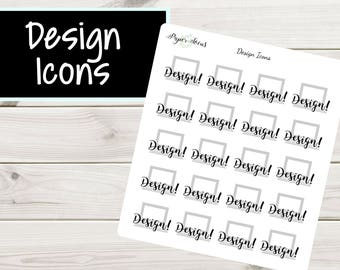 Design Icons | Girl Boss | Planner Stickers