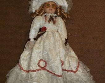 Vintage Victorian doll