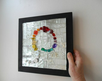 mirror - home decor - mosaic art - mosaic mirror - sparkle - gift idea - mosaic gift - shine - mosaic lover - wall art - mosaic mirror gift