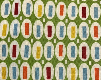 Half Yard PotLuck by American Jane Patterns Sandy Klop for Moda Retro pot luck spring green red blue yellow orange