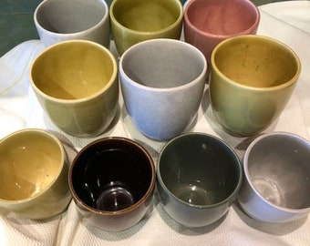 Russel Wright Tumbler.  American Modern by Steubenville.  Pick Your Color