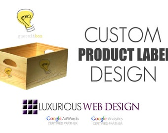 Custom Product Label Design, Packaging Design, Box Design, Custom Box Design