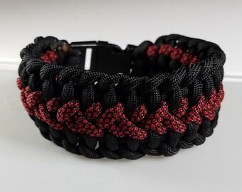Two color Paracord bracelet