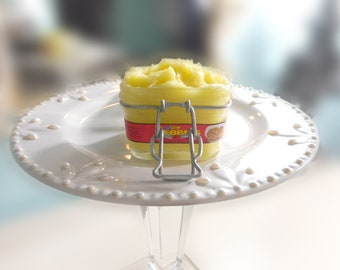 Fruity Pebbles Sugar Scrub - 3 Butter Whipped Sugar Scrub Mango, Shea and Cocoa Butter - 98% Natural