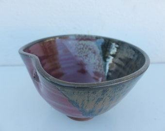 Hand Made Studio Pottery Signed  Bowl.