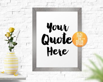 Printable Custom Sign, Large/Small Custom Art Print,Personalized Sign,Custom Print,Art,Personalized Printable Custom Signs For Home/Office