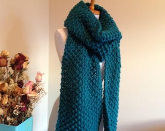 Long Fringed Super Scarf