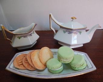 Depose T&V Limoges tea pot set