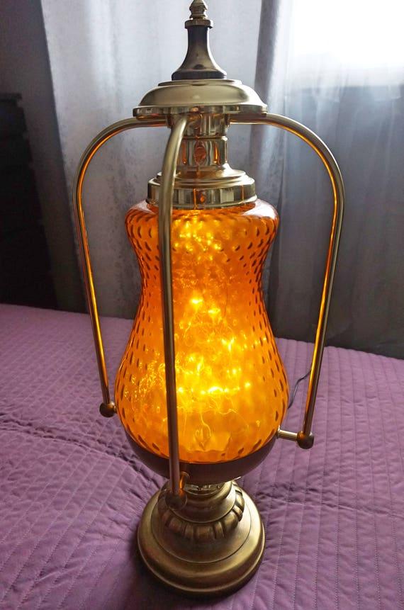Antique Vintage Table Lamp Home Decor