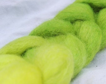 Silage Season - Hand Dyed 100% Merino Roving. Perfect for Spinning or Felting.