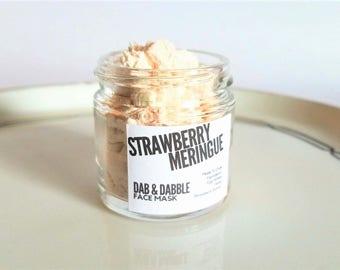 Strawberry Face Mask | Skin Firming Egg White Facial Mask |  Honey Mask | Pore Minimizer | Oily Skin Mask | All Skin Types