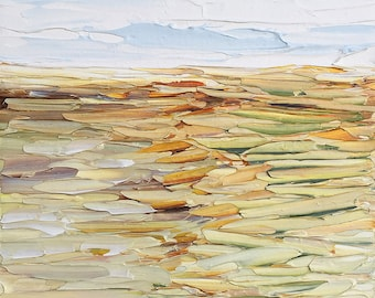 Rolling Hills – Small Landscape (on canvas) by Ruth LaGue