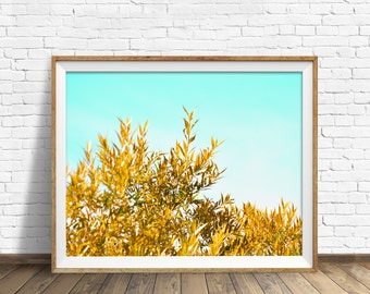 """willow tree, large art, large wall art, instant download, instant download printable art, photography, print, wall art - """"Willow Leaves"""""""