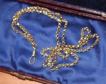 A Beautiful Antique Belchur Chain And Swivel   SKU1456