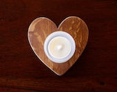 Soy wax candle heart