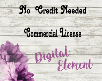 Commercial Use License: Two Design Use -  (add-on- has to be purchased with the artwork)