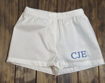 Monogrammed Baby Boxer Shorts - Monogrammed Baby Gift - Baby Boy Gift